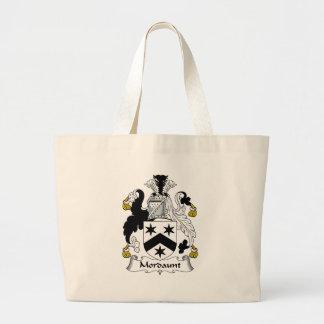 Mordaunt Family Crest Large Tote Bag