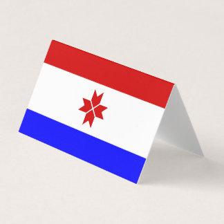Mordovia Flag Business Card