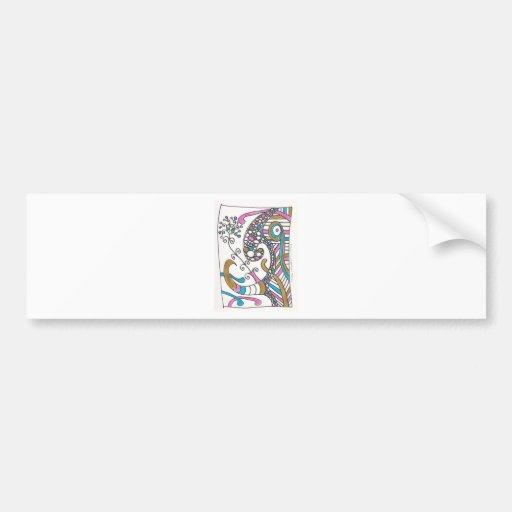 more april doodles bumper stickers