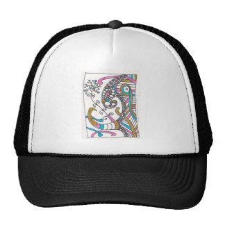 more april doodles mesh hats