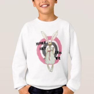 More Art Less War Sweatshirt
