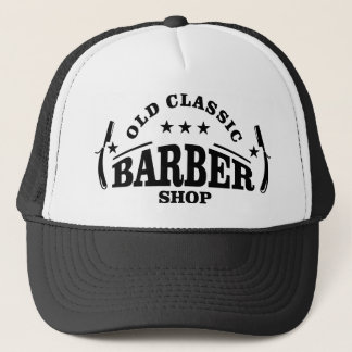 more barber trucker hat