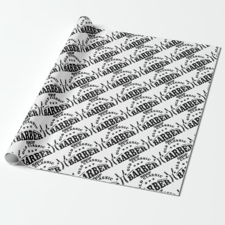 more barber wrapping paper