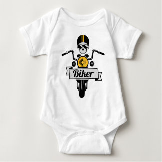 more biker baby bodysuit