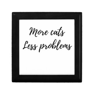 More Cats, Less Problems Gift Box