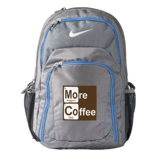 More Coffee Periodic Table Backpack