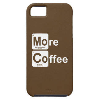 More Coffee Periodic Table Case For The iPhone 5