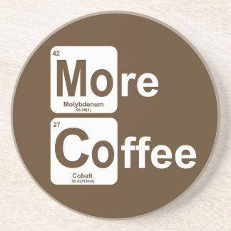More Coffee Periodic Table Coaster