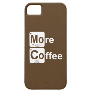 More Coffee Periodic Table iPhone 5 Case