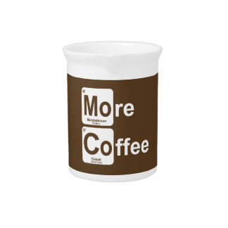 More Coffee Periodic Table Pitcher