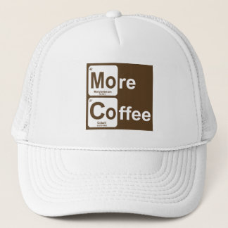 More Coffee Periodic Table Trucker Hat