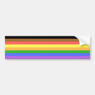 More Color More Pride Bumper Sticker