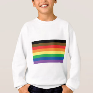 More Color More Pride Rainbow Customizable LGBT Sweatshirt