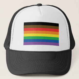 More Color More Pride Rainbow Customizable LGBT Trucker Hat