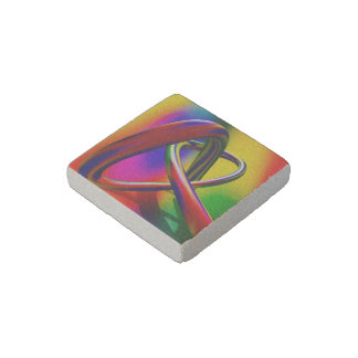 more colors in life stone magnet