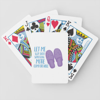 More Comfortable Bicycle Playing Cards
