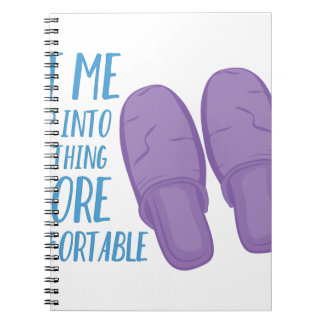 More Comfortable Notebook