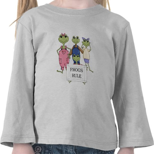 More Frogs Rule Tshirts and Gifts