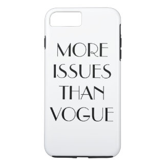 """More Issues than Vogue"" case"