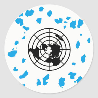 More Land #GLOBEXIT Round Stickers