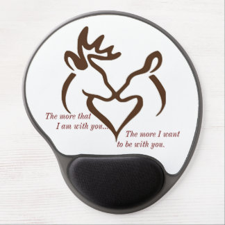 more love gel mouse pad