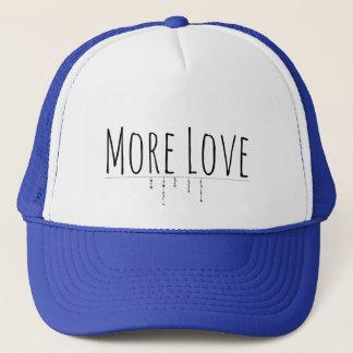 More Love Truckers Hat