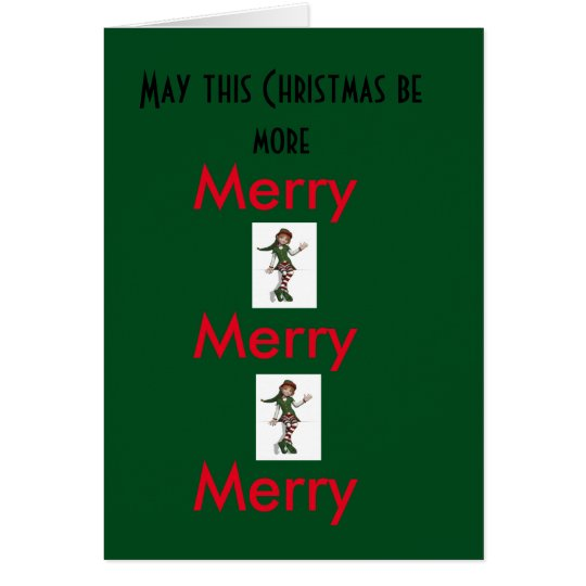 More Merry Merry Merry! Card