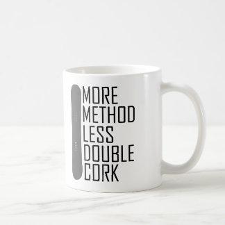 More Method Less Double Cork Coffee Mug