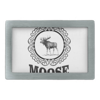 more moose ring belt buckles