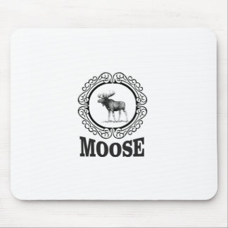 more moose ring mouse pad