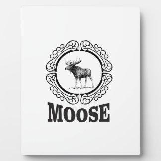 more moose ring plaque