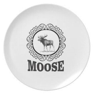 more moose ring plate