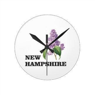 more New hampshire Round Clock