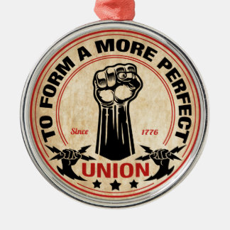More Perfect Union 1016 Metal Ornament
