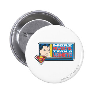 More Powerful 6 Cm Round Badge