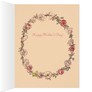 More Precious Beige Mother's Day Greeting Cards