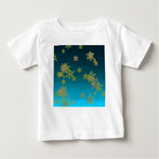 """""""MORE SNOW""""TEAL BLUE ART DESIGN GIFTS BABY T-Shirt"""