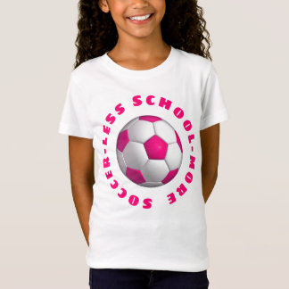 More Soccer Pink T-Shirt
