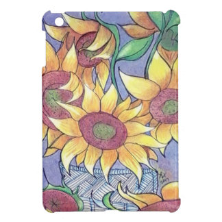 More sunflowers case for the iPad mini