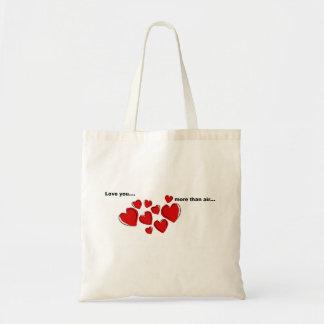 """""""More than air"""" tote bag"""