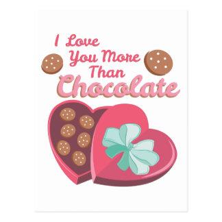More Than Chocolate Postcard