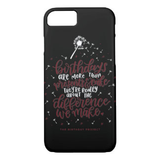 More Than Presents & Cake Phone Case -Black