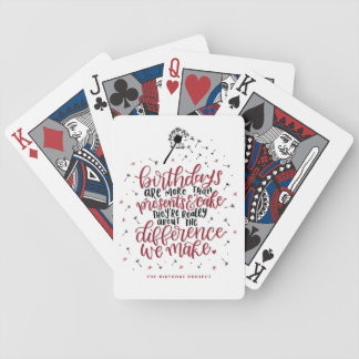 More Then Presents Playing Cards