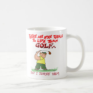 More things-golf coffee mug