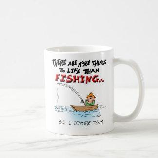 More Things to Life-fishing Coffee Mug