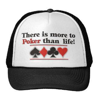 More to Poker Cap