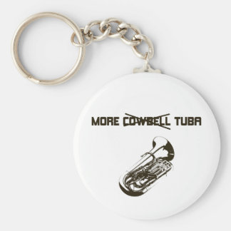 More Tuba Key Ring