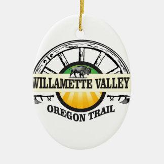 more willamette valley ot ceramic ornament