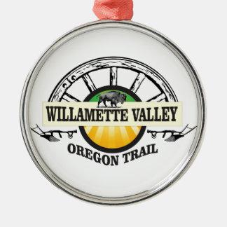 more willamette valley ot metal ornament