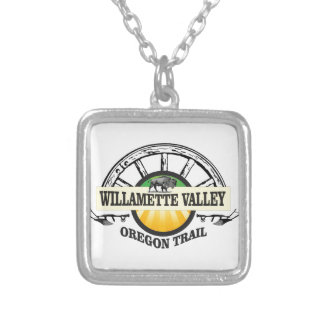 more willamette valley ot silver plated necklace